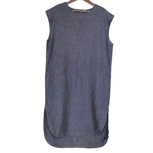AYRTIGHT   Linen Lagenlook Tunic Dress